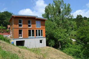 Einfamilienhaus mit Holzfassade in Wien bauen