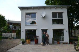 Hausbau - Kleingartenhaus im Westen Wiens